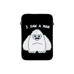 Yeti   I Saw A Man Apple Ipad Mini Protective Soft Cases by Valentinaart