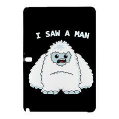 Yeti   I Saw A Man Samsung Galaxy Tab Pro 12 2 Hardshell Case by Valentinaart