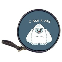 Yeti   I Saw A Man Classic 20 Cd Wallets by Valentinaart
