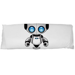 Cute Robot Body Pillow Case Dakimakura (two Sides) by Valentinaart