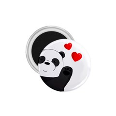 Cute Panda 1 75  Magnets by Valentinaart