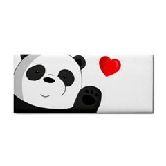 Cute Panda Cosmetic Storage Cases by Valentinaart