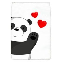Cute Panda Flap Covers (l)  by Valentinaart