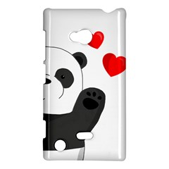Cute Panda Nokia Lumia 720 by Valentinaart