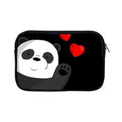 Cute Panda Apple Ipad Mini Zipper Cases by Valentinaart