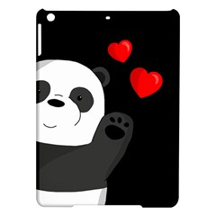 Cute Panda Ipad Air Hardshell Cases by Valentinaart