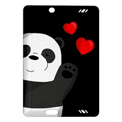 Cute Panda Amazon Kindle Fire Hd (2013) Hardshell Case by Valentinaart