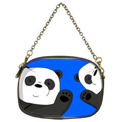 Cute Pandas Chain Purses (two Sides)  by Valentinaart