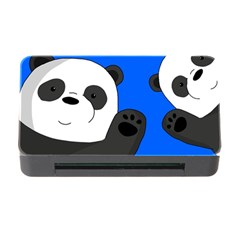 Cute Pandas Memory Card Reader With Cf by Valentinaart