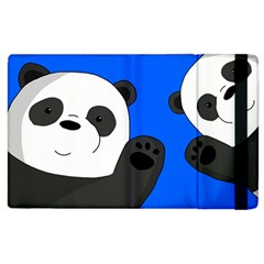 Cute Pandas Apple Ipad 3/4 Flip Case by Valentinaart