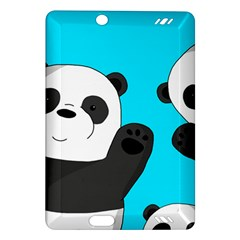 Cute Pandas Amazon Kindle Fire Hd (2013) Hardshell Case by Valentinaart