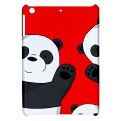 Cute Pandas Apple Ipad Mini Hardshell Case by Valentinaart