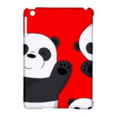 Cute Pandas Apple Ipad Mini Hardshell Case (compatible With Smart Cover) by Valentinaart