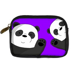 Cute Pandas Digital Camera Cases by Valentinaart