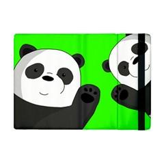 Cute Pandas Apple Ipad Mini Flip Case by Valentinaart