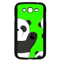 Cute Pandas Samsung Galaxy Grand Duos I9082 Case (black) by Valentinaart