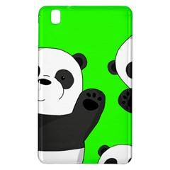 Cute Pandas Samsung Galaxy Tab Pro 8 4 Hardshell Case by Valentinaart