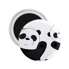 Cute Pandas 2 25  Magnets by Valentinaart