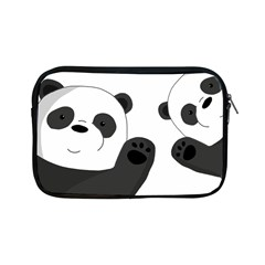 Cute Pandas Apple Ipad Mini Zipper Cases by Valentinaart