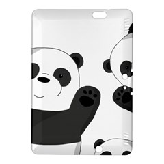 Cute Pandas Kindle Fire Hdx 8 9  Hardshell Case by Valentinaart