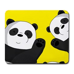 Cute Pandas Large Mousepads by Valentinaart