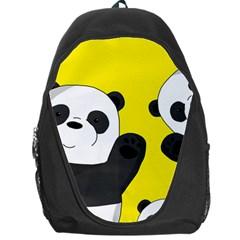 Cute Pandas Backpack Bag by Valentinaart