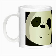 Cute Pandas Night Luminous Mugs by Valentinaart