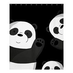 Cute Pandas Shower Curtain 60  X 72  (medium)  by Valentinaart