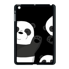Cute Pandas Apple Ipad Mini Case (black) by Valentinaart