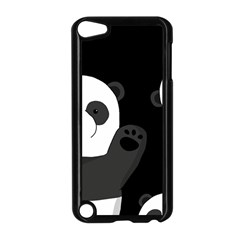 Cute Pandas Apple Ipod Touch 5 Case (black) by Valentinaart