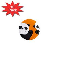 Cute Pandas 1  Mini Magnet (10 Pack)  by Valentinaart