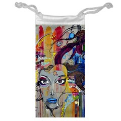 Graffiti Mural Street Art Painting Jewelry Bag by BangZart