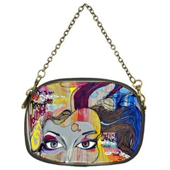 Graffiti Mural Street Art Painting Chain Purses (one Side)  by BangZart