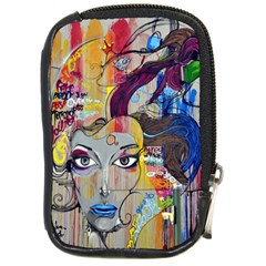 Graffiti Mural Street Art Painting Compact Camera Cases by BangZart