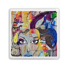 Graffiti Mural Street Art Painting Memory Card Reader (square)  by BangZart