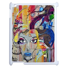Graffiti Mural Street Art Painting Apple Ipad 2 Case (white) by BangZart
