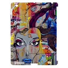Graffiti Mural Street Art Painting Apple Ipad 3/4 Hardshell Case (compatible With Smart Cover) by BangZart