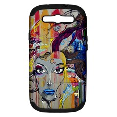 Graffiti Mural Street Art Painting Samsung Galaxy S Iii Hardshell Case (pc+silicone) by BangZart