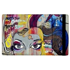 Graffiti Mural Street Art Painting Apple Ipad 3/4 Flip Case by BangZart