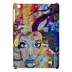 Graffiti Mural Street Art Painting Apple Ipad Mini Hardshell Case by BangZart
