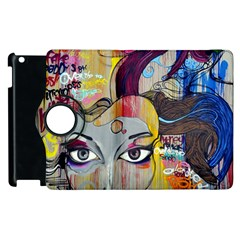 Graffiti Mural Street Art Painting Apple Ipad 2 Flip 360 Case