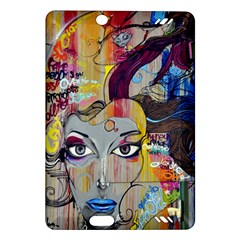 Graffiti Mural Street Art Painting Amazon Kindle Fire Hd (2013) Hardshell Case by BangZart