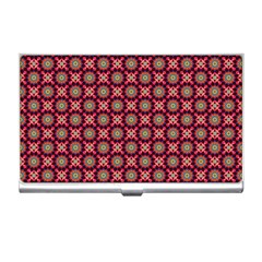Kaleidoscope Seamless Pattern Business Card Holders