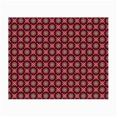 Kaleidoscope Seamless Pattern Small Glasses Cloth by BangZart