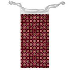 Kaleidoscope Seamless Pattern Jewelry Bag by BangZart