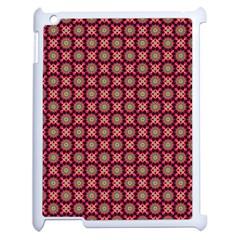 Kaleidoscope Seamless Pattern Apple Ipad 2 Case (white) by BangZart
