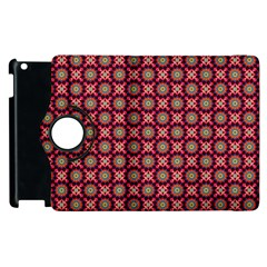 Kaleidoscope Seamless Pattern Apple Ipad 2 Flip 360 Case by BangZart
