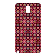 Kaleidoscope Seamless Pattern Samsung Galaxy Note 3 N9005 Hardshell Back Case