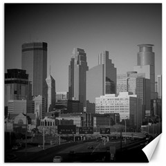 Minneapolis Minnesota Skyline Canvas 16  X 16