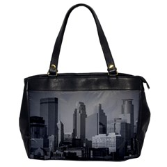Minneapolis Minnesota Skyline Office Handbags